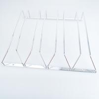 4 carbon steel hanging cup rack fashion wine rack goblet glass cup holder