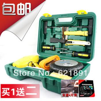 3318 car air pump vaporised pump vacuum cleaner tire repair tools emergency combination set