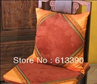 Free shipping New Arrival Pillowcases Suede imitation double palace forging Patchwork exotic Cushion Cover 1pc 40*40cm CC38
