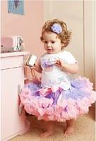 free shipping Child tutu skirt tulle  bust skirt female child performance  skirt