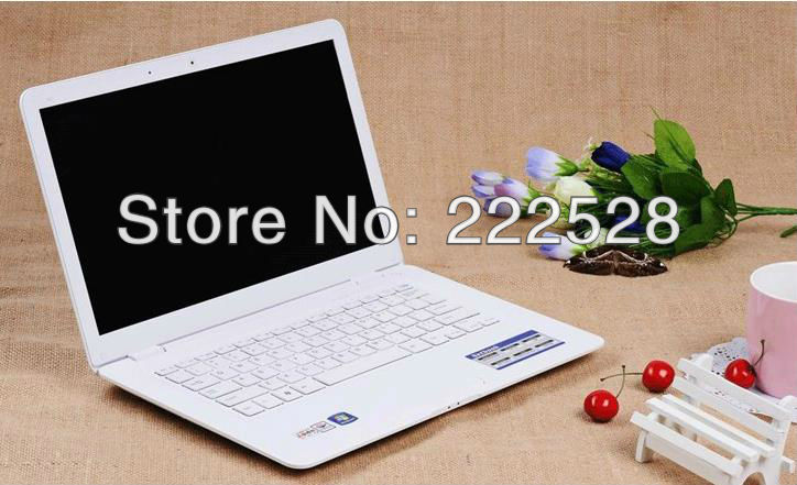 Free shipping,DA06,Ultra-thin notebook computer, laptop,win7+320G hard disk +2G memory + Intel dual-core processor+free gift(China (Mainland))