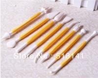 Min order $15 (mix order) 8pcs Fondant Cake Decorating Flower Modelling Craft Clays Sugarcraft Tool Cutter