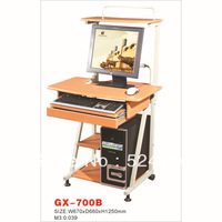 GX-700B  metal&wood computer desk