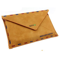 Free Shipping Old Fashion Sandi envelope Leather case for Samsung Galaxy SIII S3 i9300 Envelop bag Retail Packaging
