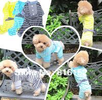 Spring and Summer Strip Jumpsuit Dog Custume For Teddy,Poodle,Doberman,Yorkshire