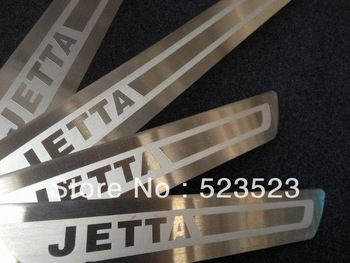 Free Ship  ForVW JETTA 6 MK6 2011 2012  Exterior Door Tread sill scuff plate Trim Stainless Steel 4pcs