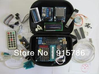 Free shipping 51 / AVR microcontroller development board microcontroller / development board / learning board kit