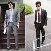 Free shipping 2013 Men's suits casual business suits and suit pants