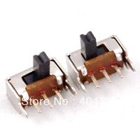 mini size,small mini SPDT slide switch, ON-OFF,9x4mm,Brand New,2508