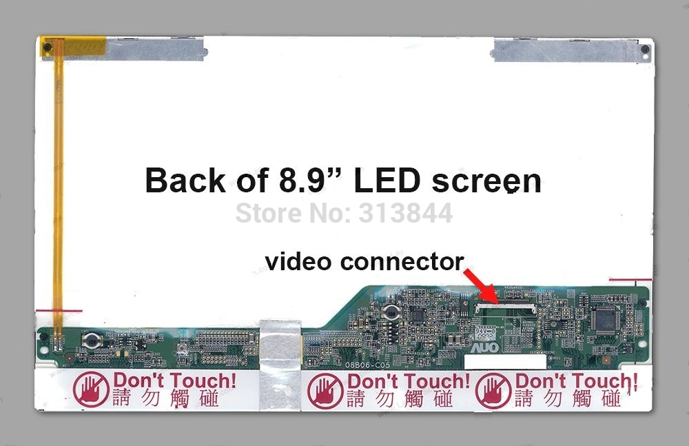 NEW A+ HSD089IFW1 lcd Screen LED Display For HP Mini-Note 2133 mini Netbook LCD(China (Mainland))