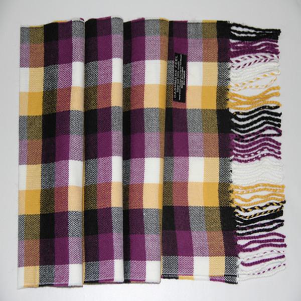 20 pcs / 1 Lot 120G Size 32*180CM Men's Fashion 100% Acrylic Shawls Long Design(China (Mainland))