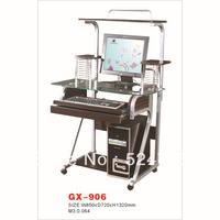 GX-906  Green  Glass Design Office Computer Desk