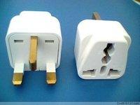 Car uk plug d'Angleterre conversion plug hong kong plug chinese style plug