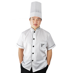 Book s125 cook suit summer short-sleeve work wear short-sleeve(China (Mainland))
