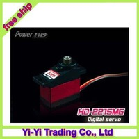 Register Free shipping!!100% orginal Power HD 2215MG metal digital servo can replace 65MG\410M\3156