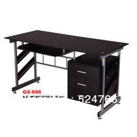 GX-606  tempered glass   computer desk