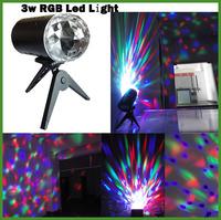 YC-688 E27 3W AC 85-265V RGB Light LED STAGE Light for XMAS Decoration,Gathering,Bar,Disco,KTV,Festival etc