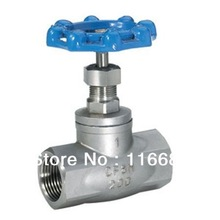 "stainless steel/ WCB globe valve, 1"", SS316, 200WOG globe valve, female thread(China (Mainland))"
