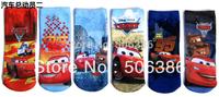 Free shipping Cars children boy's sock,fashion kid's socks,famous cartoon character socks,cartoon children cotton Socks