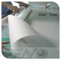 Self adhesive dark grey rear projection film/foil/screen with free shipping