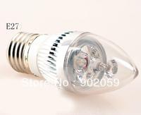 Free Shipping LED E27 BULB 3W AC85-220V LED BULB LIGHT warm /cool WHITE 10pcs/lot