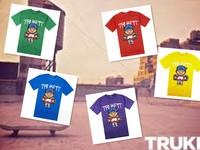 NEW men's round neck t shirts Trukfit  t-shirt fashion O-neck tshirt