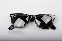 1 pair free shipping Unisex Eyewear Summer Vogue retro Sunglasses Resin Lenses Plastic Frame Sunglasses with Case