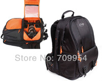 "Nylon Casual Professional DSLR SLR Camera Bag 15"" Laptop Backpack For Canon EOS, Nikon, Sony"