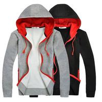 Hot sale Men's Jacket Top Brand Men's Dust Coat Hoodies Clothes sweater/overcoat/outwear FREE SHIPPING, M L XL XXL CW052