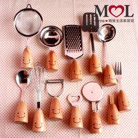 12pieces Mol zakka vintage logs of wood tableware western cutlery fork spoon kitchen utensils kitchen accessories