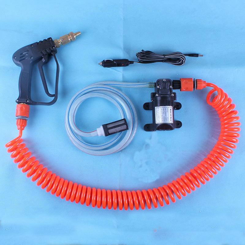 auto lavador de carros carro portátil mini máquina de lavar dispositivo de lavagem de alta pressão bomba de água arma água(China (Mainland))
