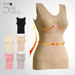 slimming shaping cotrol thin belt body shaper shapewear push-up cotton vest waist shaper underwear breathable top free shipping(China (Mainland))