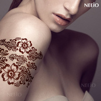 Free shipping Surprise! temporary tattoo tattoo stickers waterproof classical flower vine unique circled Women