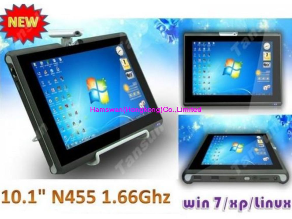 Best-selling 10 inch tablet pc H880 intel Atom D2500 1.86GHz Dual-core Memory 2G DDR3 HDD 500GB 320 rotation camera OS windows7(China (Mainland))