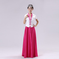 Costume big choral service erhu Pipa guzheng piano clothes clothing welcome formal dress