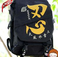 Free Shipping New Anime Naruto Backpacks Cosplay Shoulder Bag Nylon
