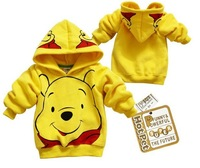 free shipping +cheapest children kid cartoon Hoody thick warm thin  coat Sweatshirts hoodies baby clothing wear