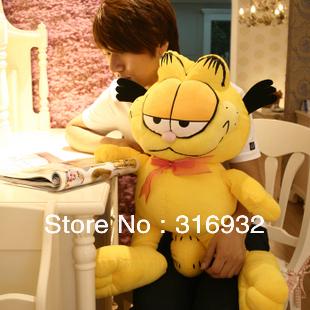 J1 Super cute large 60 CM garfield plush toy doll birthday gift, 1pc