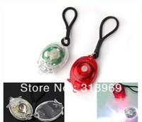 2 In1 New Mini Bright LED Bicycle light Bike Safety Light 100PCS/LOT