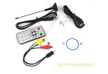 Free shipping USB 2.0 Analog signals TV Receiver stick tuner box For Laptop PC
