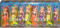 2013 New Arrival  beautiful american girls dolls Free ship 16 pieces mermaid