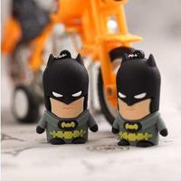Free shipping Wholesale full capacity Genuine 4GB 8GB 16GB 32GB cute Batman characters 2.0 Memory Stick Flash Pen Drive USB249