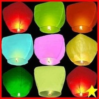 Free Shipping (10pcs/lot) Wholesale High Quality  Chinese Lantern & Flying Lanterns & Sky  Lanterns