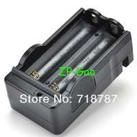 Black Battery Charger for 18650 Rechargeable Li-Ion 3.6V 3.7V Powerful Brand New 50pcs/lot
