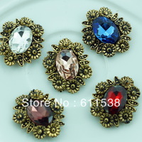 2.5*2cm flat back alloy invitation jewelry charm