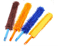 Free shipping High Quality Useful Flexible Double Chenille Duster/Handle Duster 1pcs/lot,2013 New Hot sale