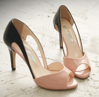 2013 new Fashion open toe high heels big sizes lady high heel shoes for women sexy dress shoes 3812