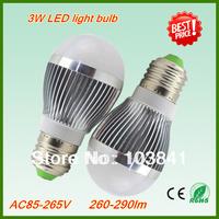 Free shipping 5W LED lamp bulb Super quality 280-620lm led light bulb 2 years warranty10pcs/lot energy saving led globe bulb