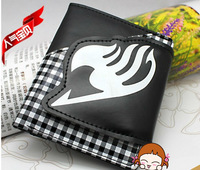 Free Shipping New FAIRY TAIL Guild Logo PU Wallet Cosplay Purse Stripe Design