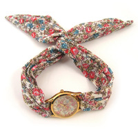 Sweet chiffon girls watch fashion watch sweet lady